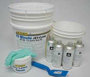 10 MINUTE CONCRETE REPAIR 1.5 GAL. PAIL by JE Tomes