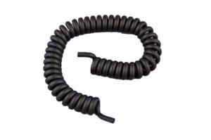 10FT SPHYGMOMANOMETER COILED TUBE - BLACK by Medline Industries, Inc.