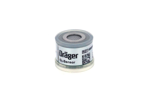 OXYGEN SENSOR, 1.16 IN DIA, GOLD PLATED SLIP RING, 0 TO 100%, WHITE, CLEAR, 14 TO 20 MV SIGNAL OUTPUT, 700 TO 1250 MBAR PRESSURE, 12 SEC RESPONSE by Draeger Inc.
