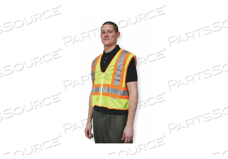 HIGH VISIBILITY VEST 4XL YELLOW/GREEN by Condor