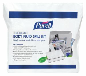 SPILL KIT BAG 2 GAL CAP. 13 L PK16 by Purell