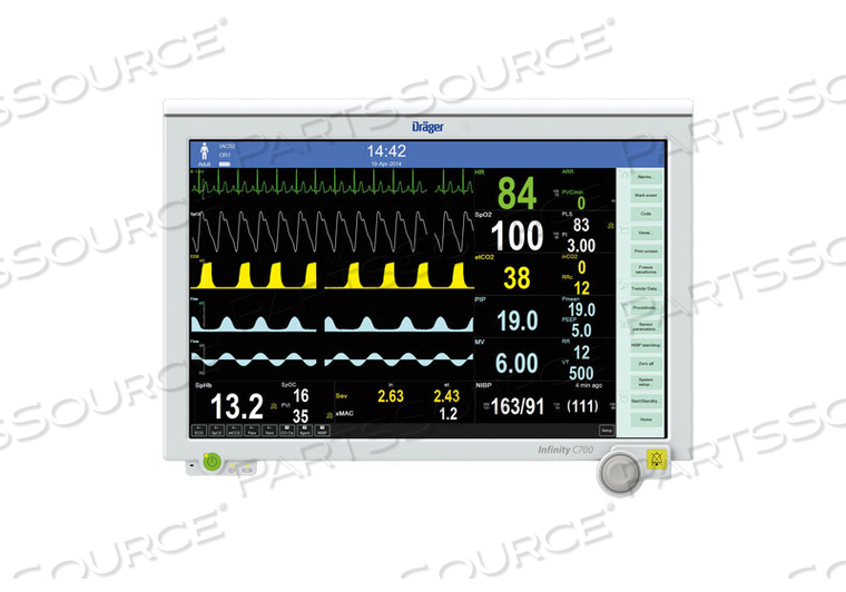 INFINITY C700 PHYSIOLOGICAL MONITOR REPAIR
