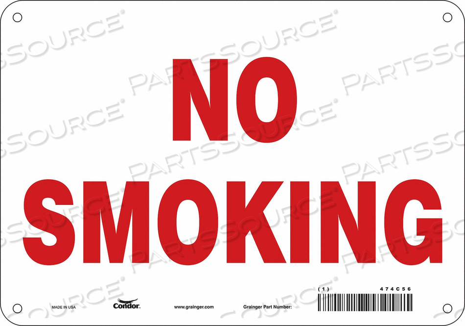 J7012 SAFETY SIGN 10 W 7 H 0.055 THICKNESS by Condor