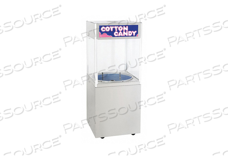 STATIONARY COTTON CANDY CABINET 75 LB. by Cretors