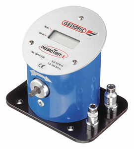 ELECTRONIC TORQUE TESTER 0.9-55 NM by Gedore
