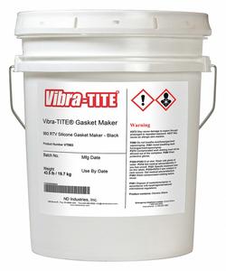 GASKET SEALANT 4.5 GAL. BLACK by Vibra-Tite