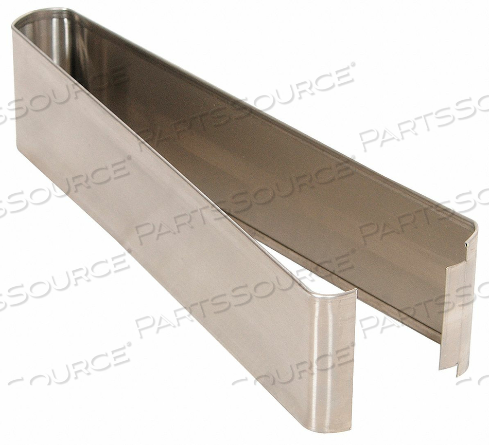 SHOE SS SPLIT 18 W X 3 H by Global Partitions