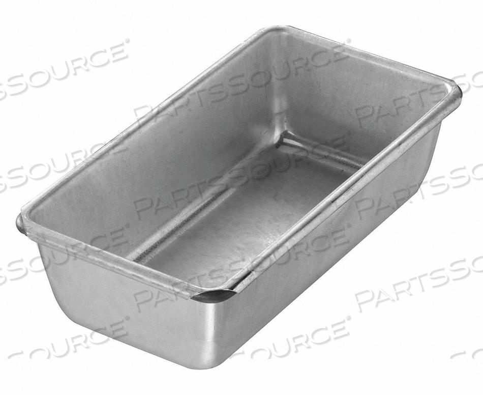 BREAD PAN SINGLE GLAZED 7-1/4X3-5/8 by Chicago Metallic