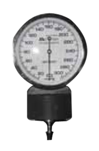 ANESTHESIA 300MM HG ANEROID BLOOD PRESSURE GAUGE by Anesthesia Associates