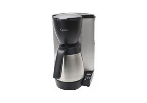 COFFEE MAKER SINGLE BLACK/SILVER 10 CUP by Capresso