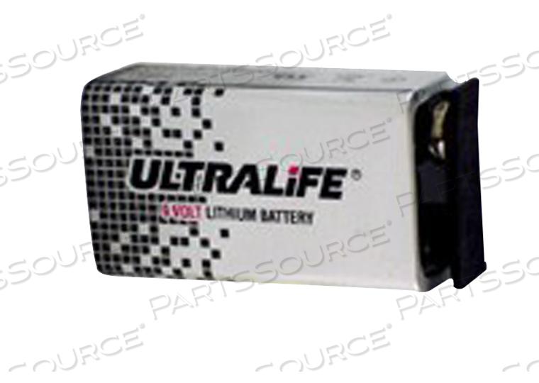 BATTERY, 9V, LITHIUM, 9V, 1200 MAH by R&D Batteries, Inc.