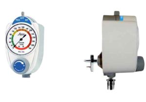 ANALOG VACUUM REGULATOR, DISS MALE X MALE, 0 TO 300 MMHG by Amvex (Ohio Medical, LLC)