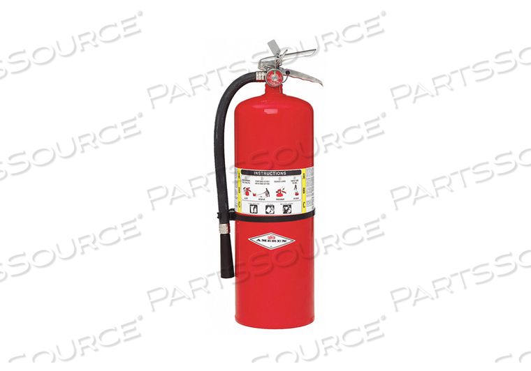 FIRE EXTINGUISHER DRY ABC 10A 120B C by Amerex