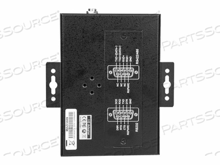 STARTECH.COM 4-PORT INDUSTRIAL USB TO RS-232/422/485 SERIAL ADAPTER - 15 KV ESD PROTECTION - SERIAL ADAPTER - USB 2.0 - RS-232/422/485 X 4 + USB 2.0 X 1 - BLACK by StarTech.com Ltd.