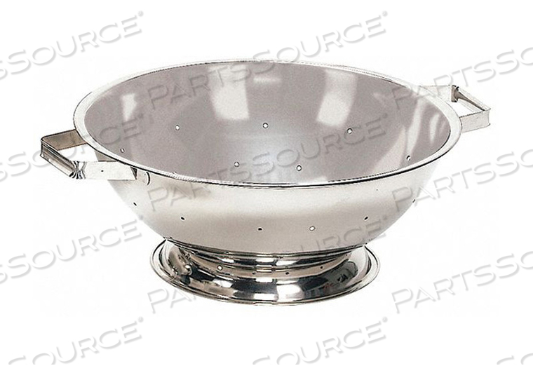 COLANDER 3 QT. 3-3/4 IN H STEEL by Crestware