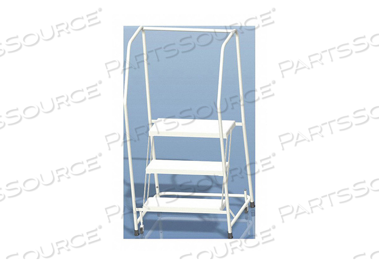 SAFETY ROLL LADDER ALUMINUM 28-1/2 IN.H by Ballymore