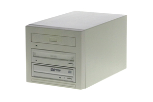 PERIPHERAL TOWER DUAL-BAY MOD-DVD RAM DRIVE, 6-1/8 IN by GE Healthcare