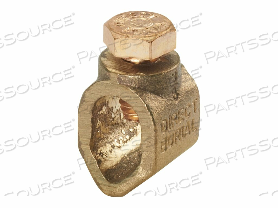 PANDUIT STRUCTURED GROUND - GROUNDING CLAMP (QTY PER PACK: 250) by Panduit