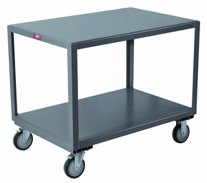 MOBILE TABLE 1400 LB. 49 IN L 31 IN W by Jamco