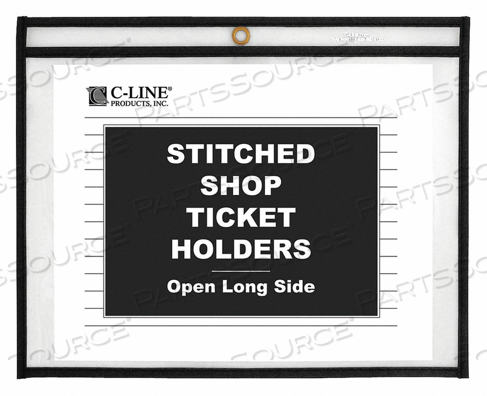 SHOP TICKET HOLDERS 11 X 8-1/2 PK25 by C-Line