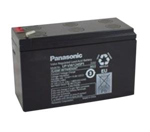 BATTERY, SEALED LEAD ACID, 12V, 9 AH, FASTON (F2) by Panasonic / Matsushita Electric Industrial Co, Ltd