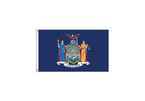 D3772 NEW YORK FLAG 5X8 FT NYLON by Annin Flagmakers