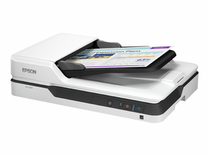 EPSON DS-1630 - DOCUMENT SCANNER - DUPLEX - LEGAL - 1200 DPI X 1200 DPI - UP TO 25 PPM (MONO) / UP TO 25 PPM (COLOR) - ADF ( 50 SHEETS ) - UP TO 1500 SCANS PER DAY - USB 3.0 by Epson