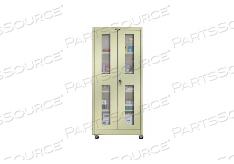 G6772 SHELVING CABINET 72 H 36 W TAN by Hallowell