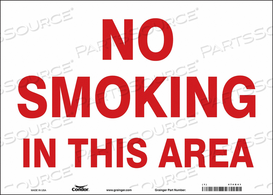 J7016 SAFETY SIGN 14 W 10 H 0.004 THICKNESS by Condor