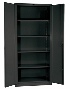 SHELVING CABINET 78 H 60 W CHARCOAL by Hallowell