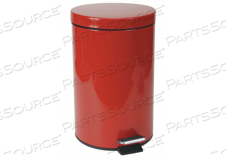 MEDICAL WASTE CONTAINER RED 3-1/2 GAL. by Tough Guy