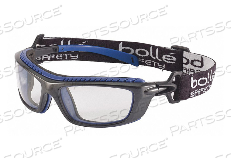 SAFETY GLASSES CLEAR LENS POLYCARBONATE by Bolle Safety