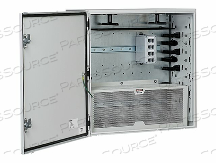 PANDUIT PRE-CONFIGURED NETWORK ZONE SYSTEM - NETWORK DEVICE SECURITY CABINET - GRAY by Panduit
