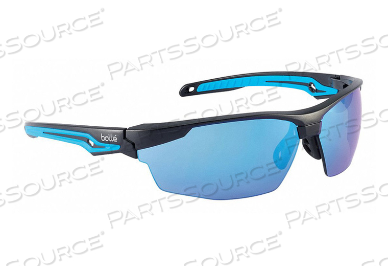 SAFETY GLASSES BLUE LENS WRAPAROUND by Bolle Safety