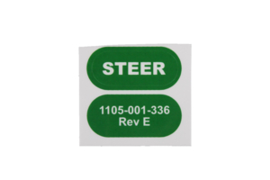 STEER LABEL, GREEN by Stryker Medical