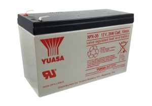 (4) 12 VOLT 8.5AH SEALED LEAD ACID BATTERY by R&D Batteries, Inc.