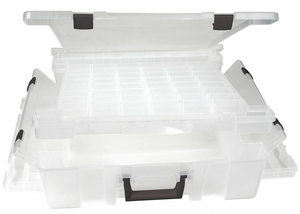 ADJUSTABLE COMPARTMENT BOX CLEAR by Flambeau, Inc.