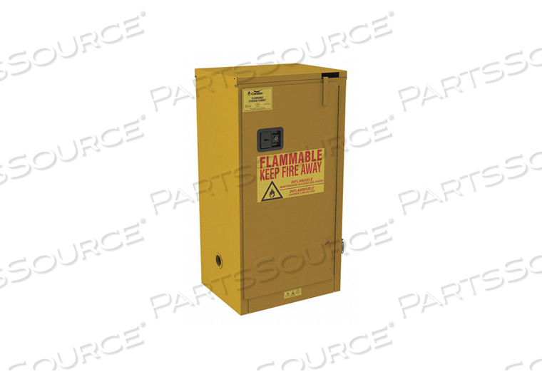 FLAMMABLE CABINET STANDARD 16 GAL. by Condor