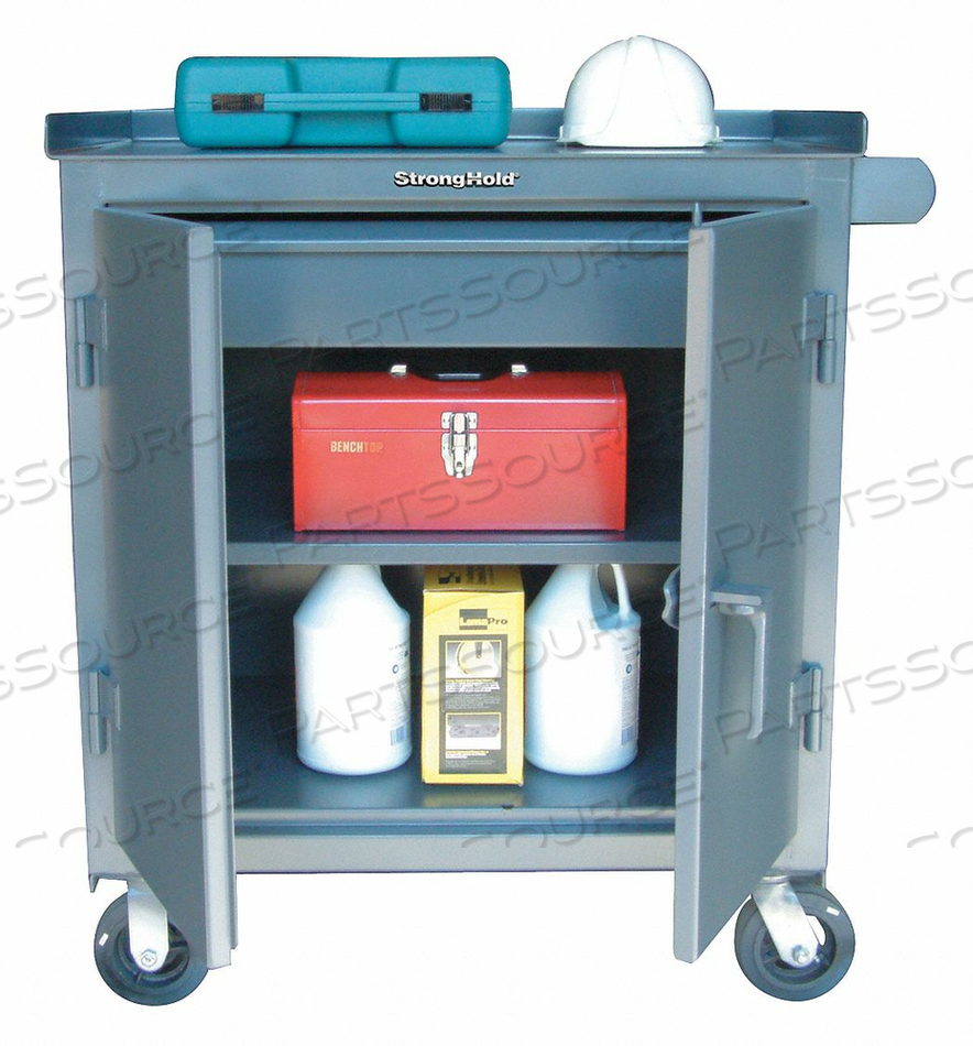 ROLLING CABINET 48 W 24 D by Strong Hold