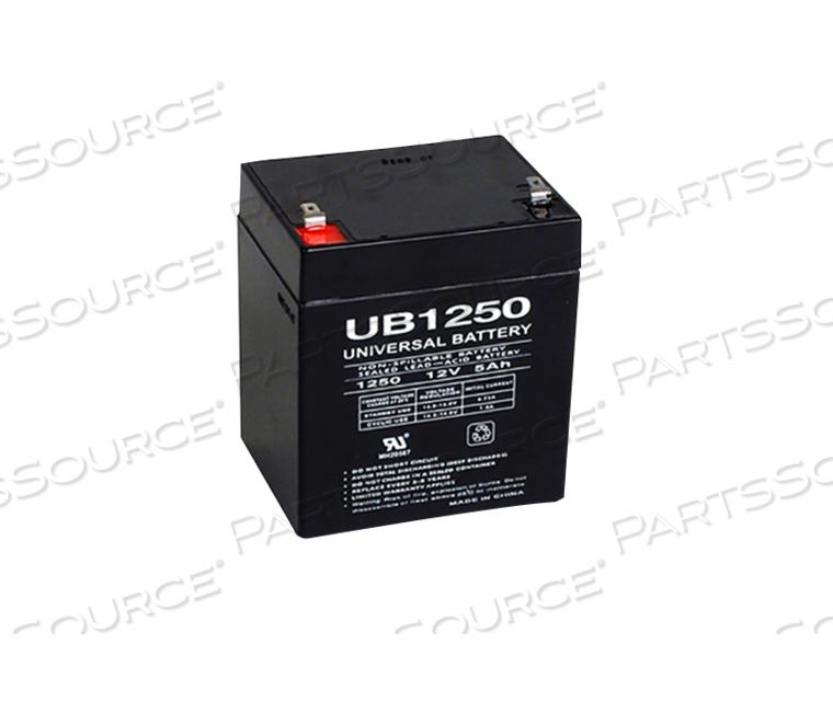 BATTERY, SEALED LEAD ACID, 12V, 4 AH by R&D Batteries, Inc.
