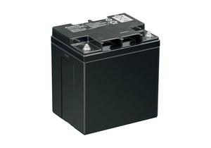 PANASONIC 12 VOLT 28.0AH BATTERY - THREADED POST TERMINAL by R&D Batteries, Inc.