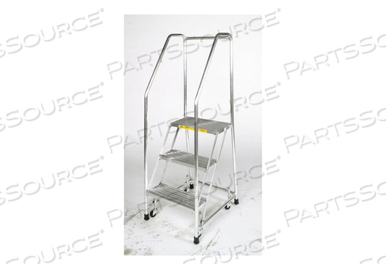 ROLLING LADDER ALUMINUM 57 IN.H by Ballymore