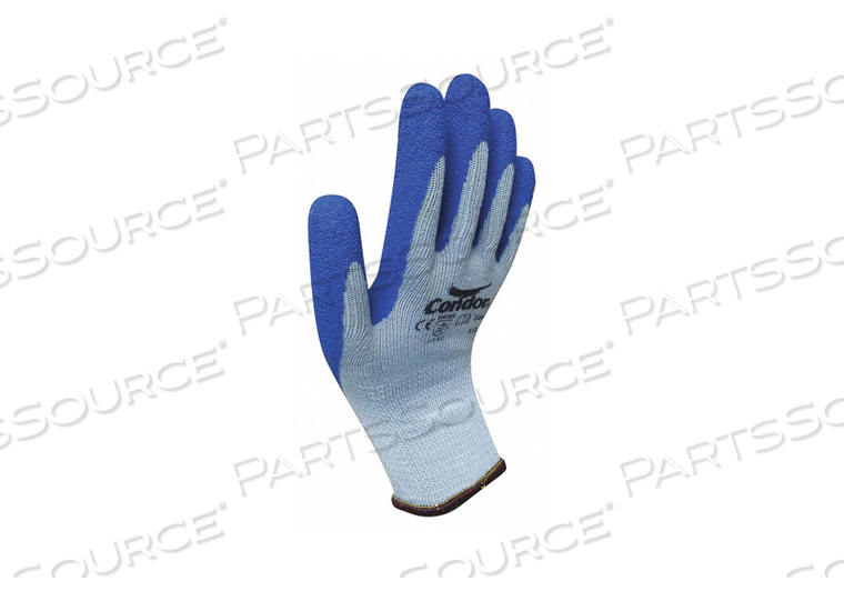 J4918 COATED GLOVES POLYESTER M PR by Condor