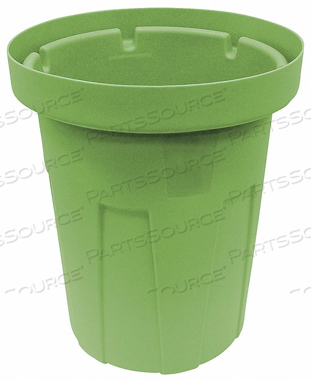 TRASH CAN 35 GAL. GREEN by Tough Guy