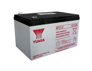 BATTERY, SEALED LEAD ACID, 12V, 12 AH, FASTON (F2) by Vyaire Medical Inc.
