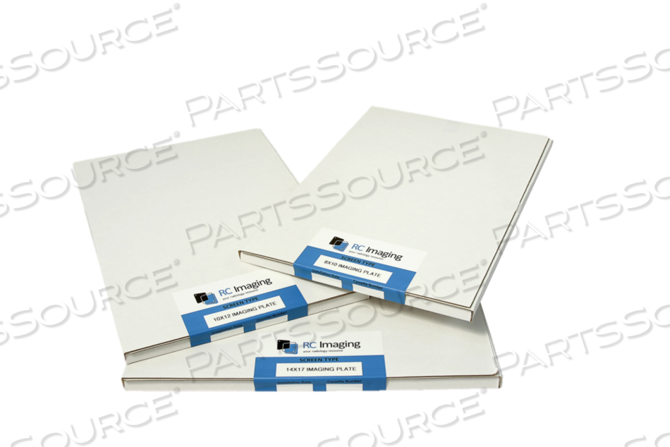 NEW 10X12 IN. DS 5000 IMAGING PLATE ONLY FOR USE IN SCANX & ALLPRO SYSTEMS. by RC Imaging (Formerly Rochester Cassette)