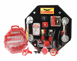 LOCKOUT/TAGOUT DEMO-TRAINING BOARD KIT by Condor