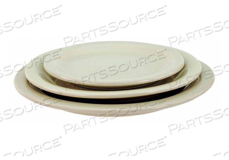 PLATE 6-3/8 IN. BONE WHITE PK36 by Crestware