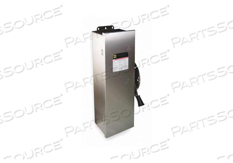 SAFETY SWITCH 600VAC 3PST 600 AMPS AC by Square D