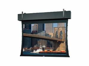 DA-LITE TENSIONED PROFESSIONAL ELECTROL HDTV FORMAT - PROJECTION SCREEN - CEILING MOUNTABLE, WALL MOUNTABLE - MOTORIZED - 120 V - 298 IN (298 IN) - 16:9 - DA-MAT - BLACK PRIMER COAT by DA-Lite
